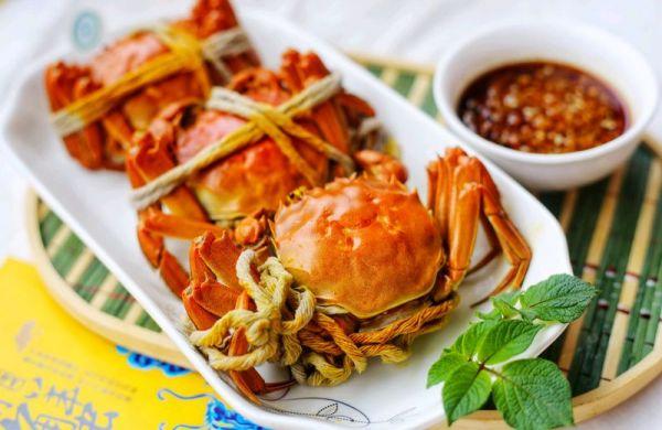 美食丨清蒸阳澄湖大闸蟹 用最简单的方法吃最鲜美的蟹的做法