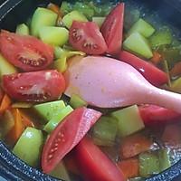蔬菜蒸粗麦粉--塔吉锅菜谱的做法图解6