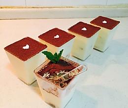 提拉米苏杯/提拉米苏蛋糕(六寸)的做法