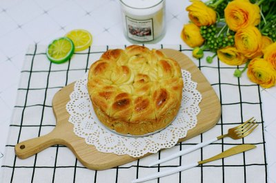 黄油手撕面包卷#做道好菜,自我宠爱!#