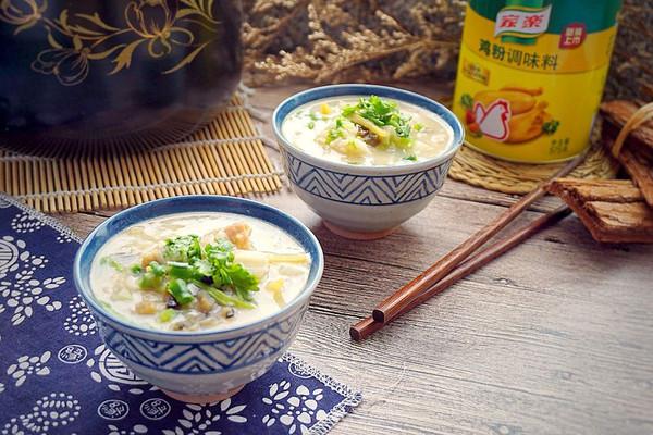 砂锅皮蛋瘦肉粥#鲜有赞·爱有伴#的做法