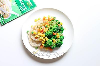 玉米全素沙拉