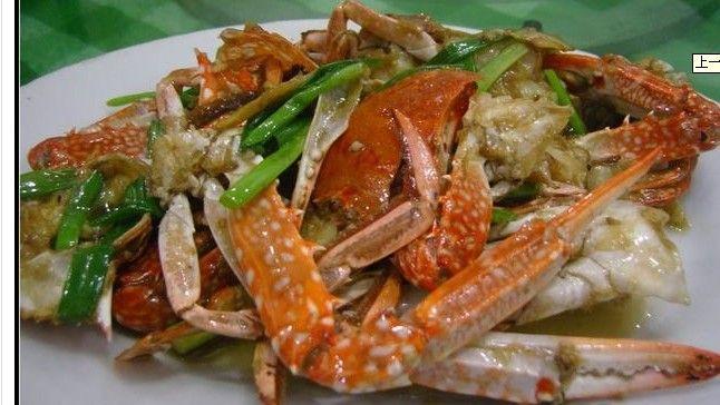 姜葱炒蟹的做法_【图解】姜葱炒蟹怎么做好吃_坠落旳