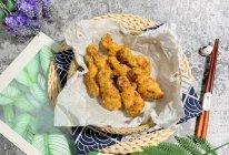 #冰箱剩余食材大改造# 咸蛋黄焗翅根的做法
