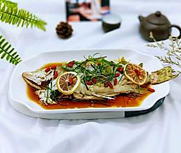 柠香蒸桂鱼