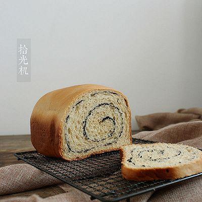 面包机黑芝麻吐司(附面包机使用小技巧)