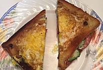 煎蛋三明治的做法