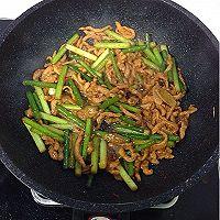 蒜苔肉丝的做法图解6