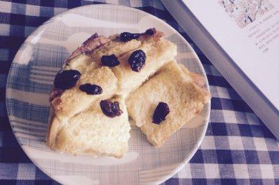 英式经典:黄油面包布丁