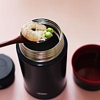 虾仁青豆糯米粥的做法图解4
