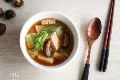 冬天当家的白菜炖豆腐