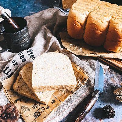 可以拉丝的全麦吐司面包 Poolish波兰种