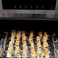 豆腐皮烤菜卷的做法图解3