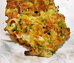 爱心蔬菜饼,媳妇一口气吃10个的做法