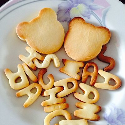 【炼乳脆饼饼干】超简单