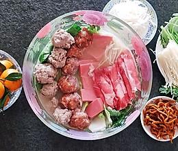 鸡汤味增锅---冬天里的暖阳#好吃不上火#的做法