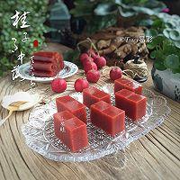 山楂糕-山楂酱(附果丹皮做法)