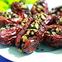 红枣核桃黑芝麻提高免疫力好东西