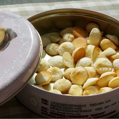 无油超松脆【奶香蛋白饼】