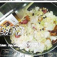 家常小炒圆白菜的做法图解8