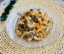 低脂健康的快手菜——凉拌平菇的做法