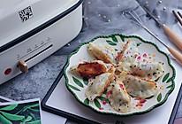 玫瑰芝麻煎饺的做法