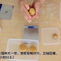 网红月饼——通透奶黄流心月饼原创配方公开的做法图解22