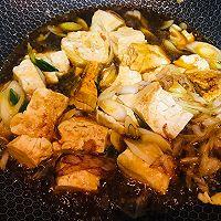 大葱烧豆腐的做法图解5