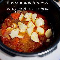 厨渣必学的一锅三吃--土豆番茄牛腩汤的做法图解9