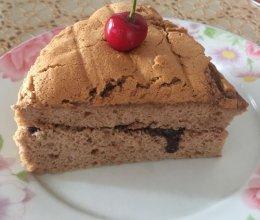 好时巧克力酱做的八寸巧克力戚风蛋糕的做法