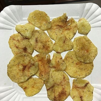 非油炸微波炉薯片