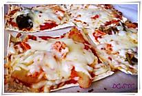 简易韩式泡菜比萨的做法