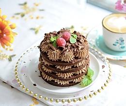 浓情巧克力小蛋糕的做法