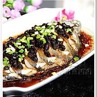 豉香十足的豆豉蒸鱼的做法图解3