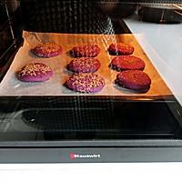 不用一滴油的健康紫薯饼的做法图解8