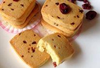 油少蛋多的蔓越莓饼干的做法