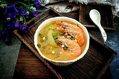 鲜美冬瓜汤