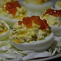 妖怪蛋—鱼籽酱鸡蛋沙拉