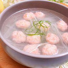 虾丸萝卜汤 宝宝健康食谱