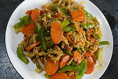 青椒洋葱炒鸡肠