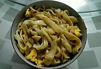 自制手工鸡蛋拌面的做法