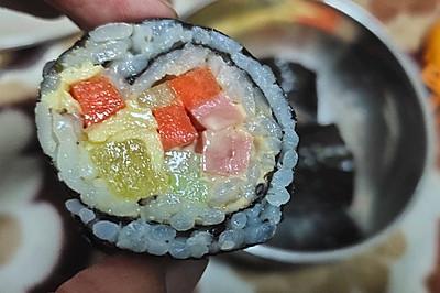 郊游外带佳品【快手紫菜包饭】