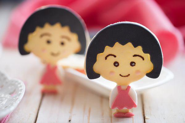 萌萌哒的樱桃小丸子饼干#长帝烘焙节华北赛区