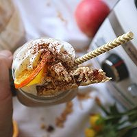 BOSCH维他汲享高速搅拌机评测食谱-橙香巧克力奶昔的做法图解20