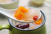 木瓜银耳甜汤的做法