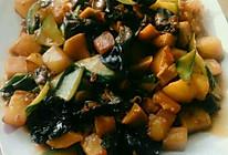 鱼香木耳红薯土豆的做法