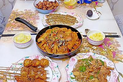 肉蟹煲-鸡翅鸡爪