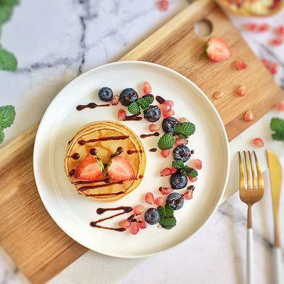 缤纷水果原味松饼