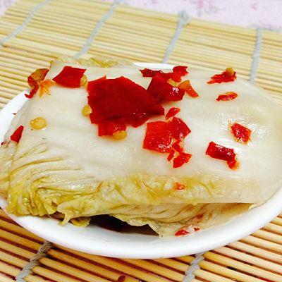 国产泡菜--最简单的剁椒泡大白菜