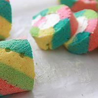 让人心情愉悦的彩虹蛋糕卷(详细步骤)的做法图解19